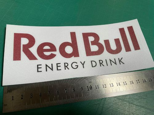 Autocolante Vinil Red Bull Energy Drink