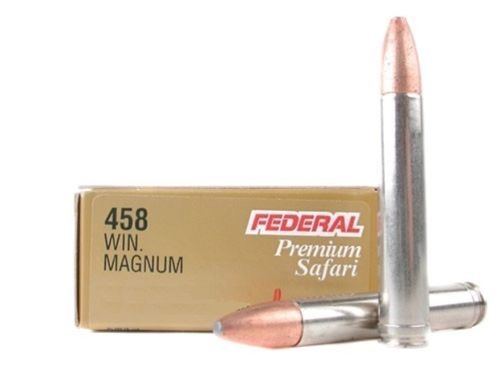 Caixa 20 Munições Federal Cal.458Win. Mag. Soft Point 510gr.